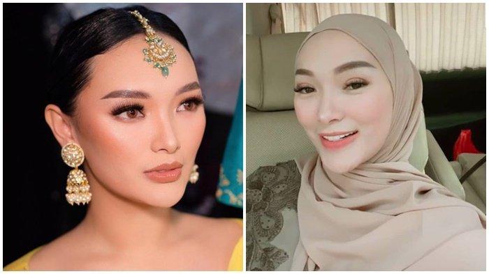 Tanpa Arsila, Zaskia Gotik Beraksi di Dalam Mobil, Penampilan Istri Sirajuddin Mahmud Tuai Pujian