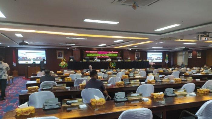 DPRD Kaltim Gelar Rapat Paripurna ke-10 dengan Agenda Penarikan Raperda Pengelolaan Limbah B3