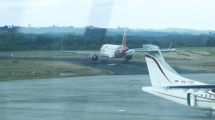 Taxiway Bandara APT Pranoto Samarinda Sering Rusak, Rekomendasi Dishub Kaltim, Tambah Satu Taxiway