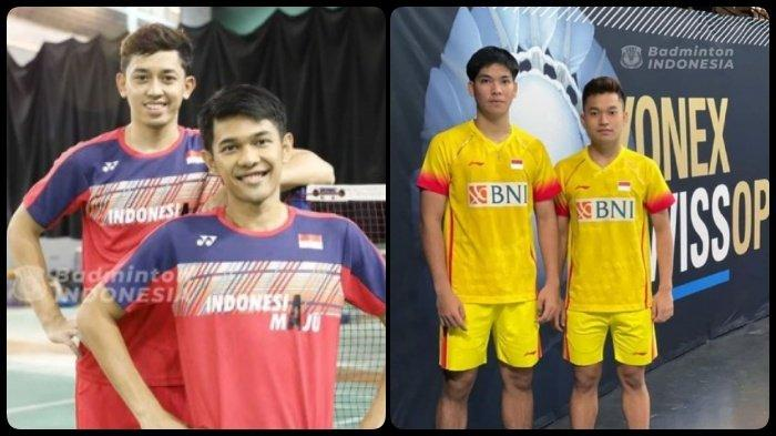 TAYANG SEKARANG Live Streaming Simulasi Piala Sudirman - Thomas - Uber, Ada Fajar/Rian vs Leo/Daniel