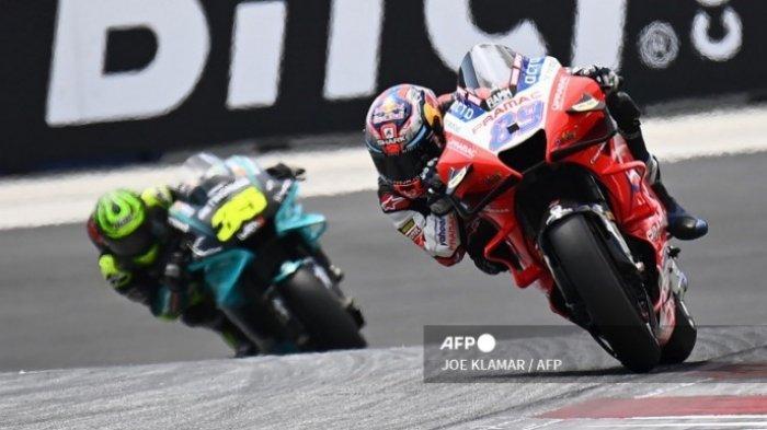 TAYANG SEKARANG MotoGP Hari Ini Live Trans7, White Flag Dikibarkan, Apa Arti Bendera Putih?