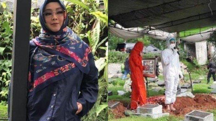 Di Pemakaman, Teddy Syah Bocorkan Aktivitas Terakhir Rina Gunawan, Ada yang Janggal Saat Istirahat