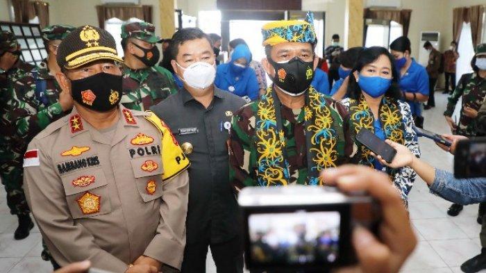 Pjs Gubernur Kaltara Teguh Sambut Kedatangan Pangkoarmada II di Tarakan