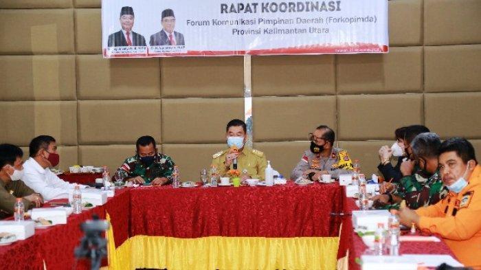 Pemprov Kaltara Makin Serius Tangani Pandemi, Teguh: Tindak, Pelanggar Protokol Kesehatan