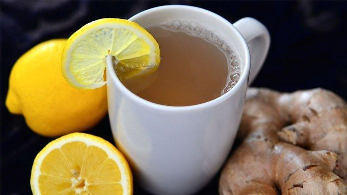 Rajin Minum Teh Lemon dengan Jahe Sebelum Tidur, Ini 7 Khasiatnya, Bisa Mengurangi Hidung Tersumbat
