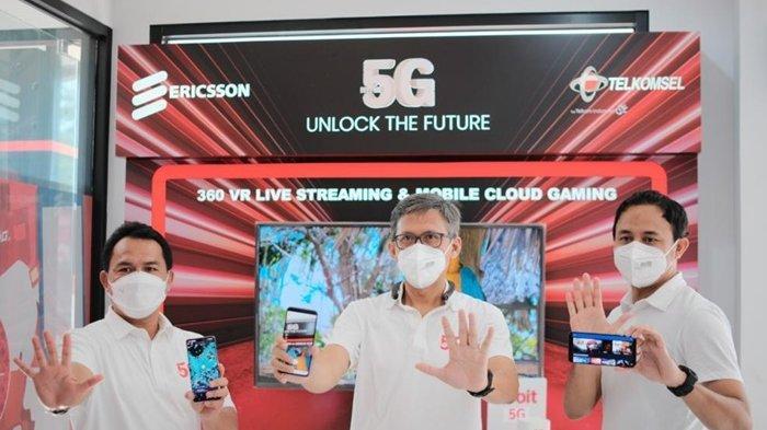 Membuka Peluang Masa Depan Lebih Luas, Telkomsel Luncurkan Layanan Telkomsel 5G Serentak di 3 Kota