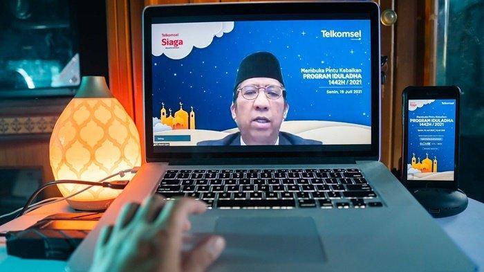 #BukaPintuKebaikan pada Hari Raya Idul Adha, Telkomsel Salurkan Hewan Kurban sampai Pelosok Negeri