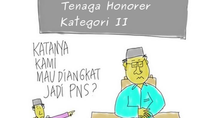 Bupati-Wabup Sibuk, Pembagian SK Tenaga Honor Ditunda