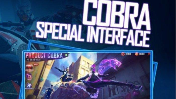 TERBARU Kode Redeem Free Fire 19 Februari 2021, Cobra Special Interface, Death Match & BigHead Mode