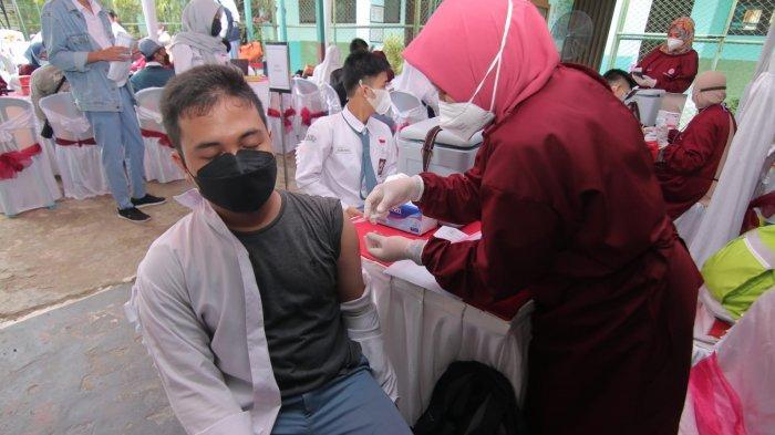 Vaksinasi Covid-19 Lanjutan di 4 Tempat Sekaligus, Binda Kaltim Gelontorkan 5500 Dosis
