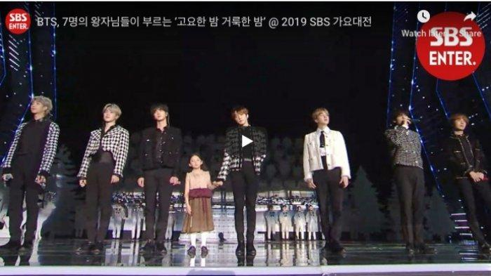 Terlewat SBS Gayo Daejun 25 Desember 2019 ? Tonton Ulang di Sini, Ada BTS Spesial Natal, TXT, dll