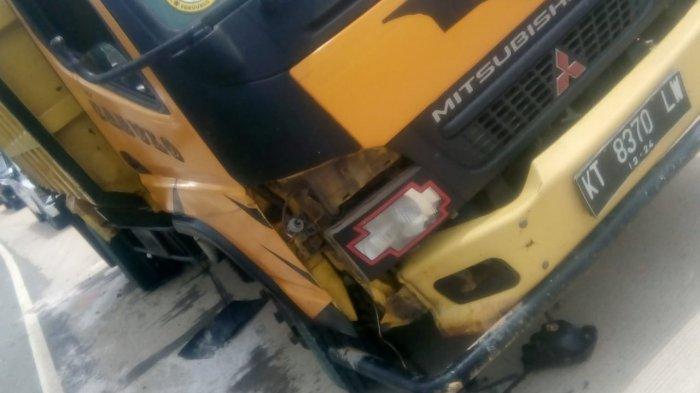 Kecelakaan Maut di Karang Joang Balikpapan, Truk vs Sepeda Motor Adu Banteng, Warga Kukar Meninggal