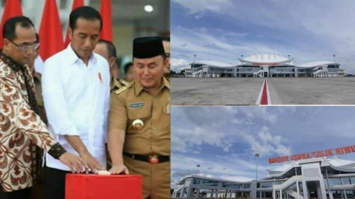 Terminal Baru Bandara Tjilik Riwut & Wacana Ibu Kota Negara di Palangkaraya, Ini Tanggapan Jokowi