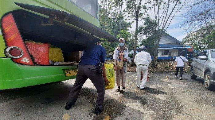Sehari Sebelum Larangan Mudik, Terminal Lempake Samarinda Berangkatkan Tiga Unit Bus, Ini Tujuannya