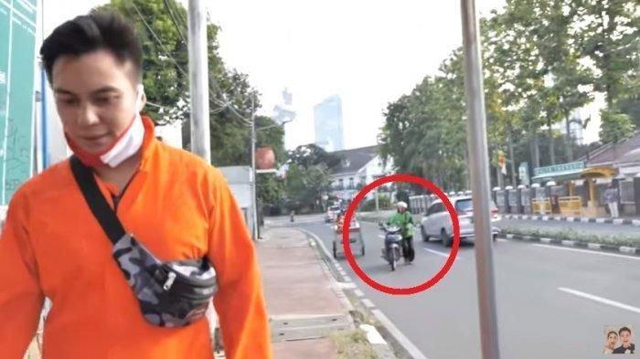 Ternyata Ditipu, Baim Wong Ungkap Kekesalan pada Oknum Ojol Pura-pura Dorong Motor: Aktingnya Bagus