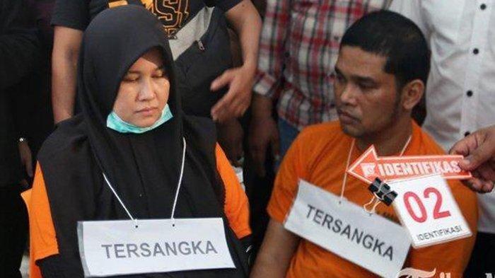 Rekaman CCTV Ini Ungkap Fakta Hubungan Jefri dan Zuraida Hanum, Masuk Saat Hakim Jamaluddin Tak Ada