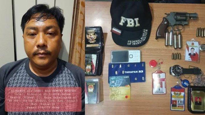 Punya Lencana Keluarga Paspampres, Reskrim Hingga FBI, Pria Ini Tipu Korban, Sikat Uang Rp 90 Juta