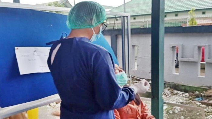 Rasio Terkonfirmasi Covid-19 di Malinau Fluktuatif, Angka Pasien Dirawat Menurun