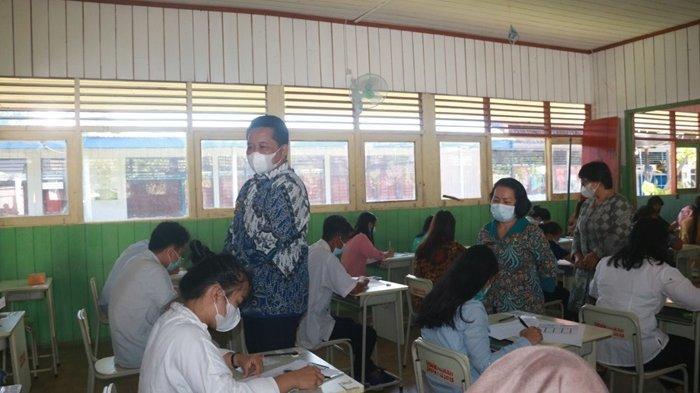 Kerja Sama dengan Perguruan Tinggi, 100 Lebih Putra-putri Mahulu Tes Tertulis Beasiswa GCM