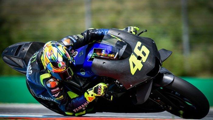 Jadwal MotoGP Austria 2019 - Valentino Rossi Lebih Dulu Jajal Mesin Baru Yamaha, Masih Tak Terkesan