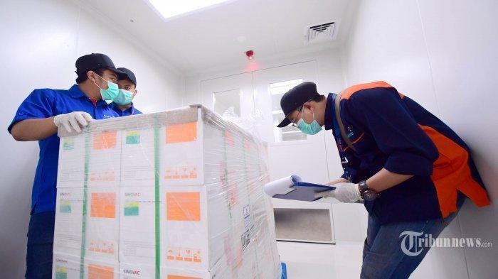 DPR Apresiasi Kerja Keras Pemerintah, Vaksin Covid-19 Tiba di Tanah Air, Prokes Tetap Diterapkan