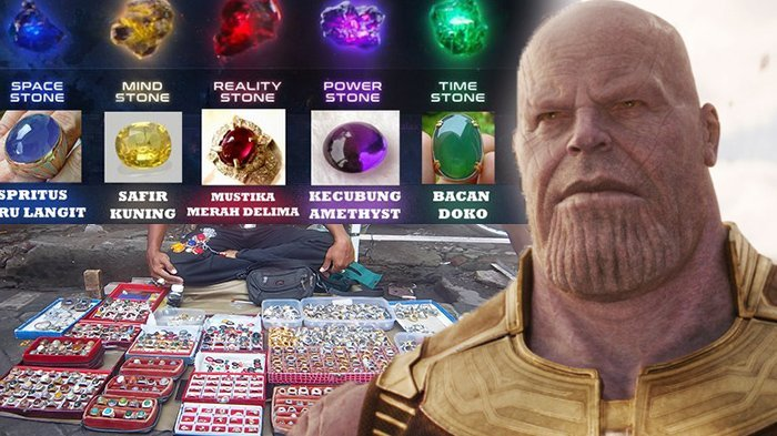 6 Infinity Stones yang Diburu Thanos di Film Avengers Mirip dengan Batu Akik Begini Korelasi Netizen