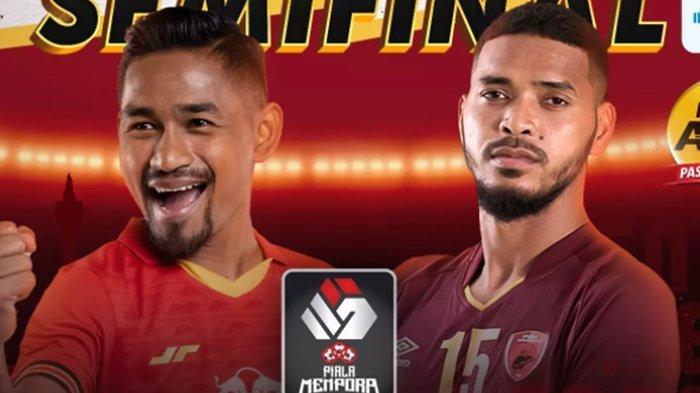 SEDANG BERLANGSUNG Live Streaming Persija vs PSM, Siaran Langsung Semifinal Piala Menpora 2021 Leg 2