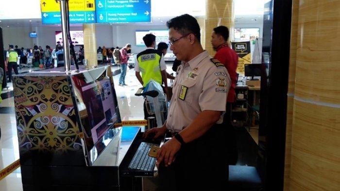 Suhu Tubuh Ekstrem akan Terdeteksi, Ini yang Dilakukan KKP Samarinda di Bandara APT Pranoto