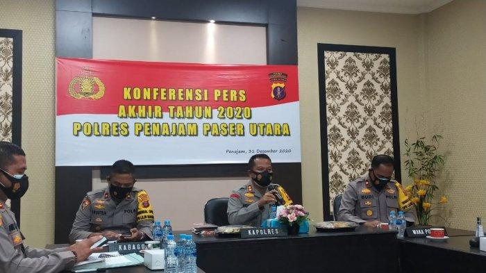 Polres PPU Larang Warga Rayakan Malam Tahun Baru 2021, Berdoa di Rumah Saja