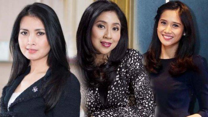 Deretan Istri Bos Besar TV Swasta di Indonesia, Paling Muda Umur 29 Tahun