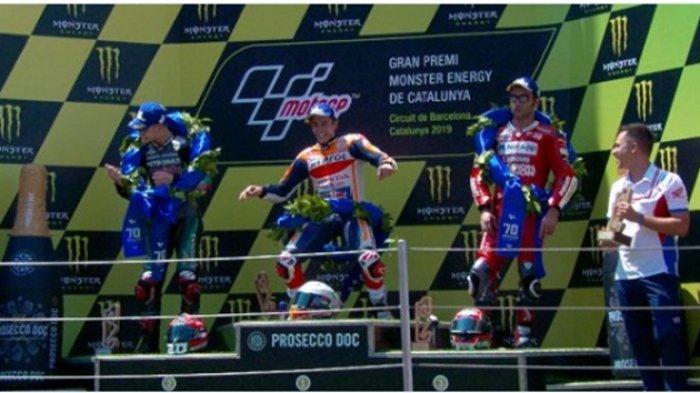 Jadwal Siaran Langsung & LINK LIVE STREAMING MotoGP Belanda 2019, Kilas Jatuhnya Rider di Catalunya