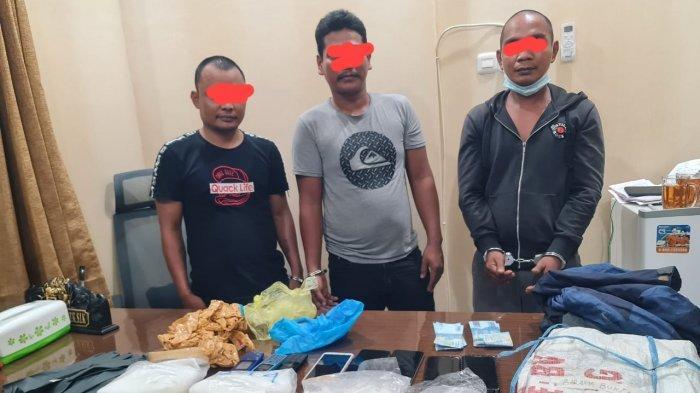 Polres Nunukan Beber Modus Operandi Kurir Bawa 3,5 Kg Sabu dari Malaysia
