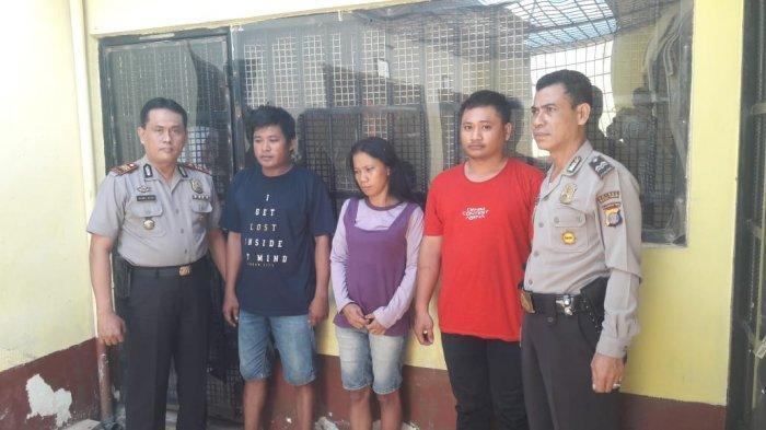 Gerebek Kos-kosan di Sangatta Utara, Polisi Temukan 14 Poket Sabu dan Tangkap Tiga Pelaku