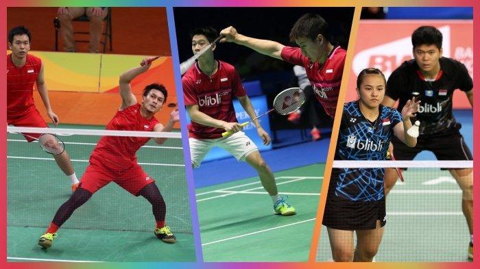 Jadwal Live dan Link Live Streaming Badminton Hari Ini French Open 2019, Ada 11 Wakil Indonesia