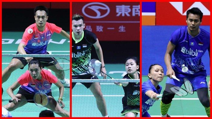 Greysia/Apriyani Mundur, Jadwal Hong Kong Open 2019, Live Streaming Badminton Ada 6 Wakil Indonesia