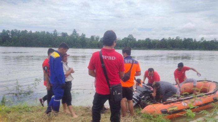 Tim BPBD Kubar Dirikan Posko Pencarian Nelayan yang Hilang di Pelabuhan Royok
