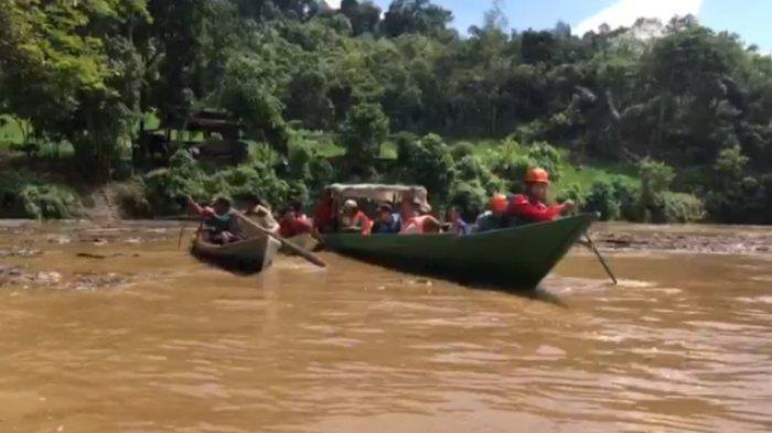 BREAKING NEWS Remaja 20 Tahun Dilaporkan Hilang Saat Berenang di Sungai Kampung Merasa Berau