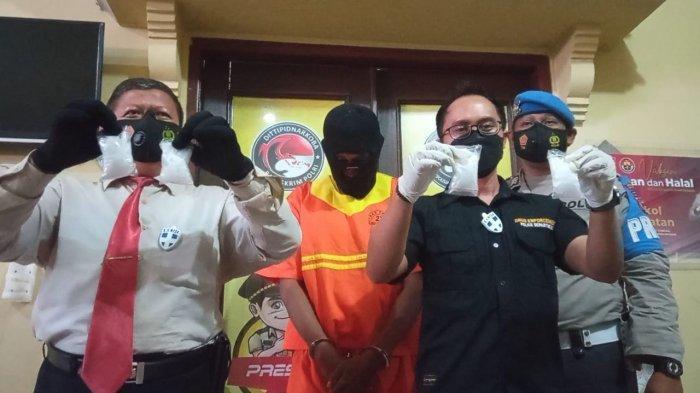 Tak Kapok, Residivis Narkoba di Balikpapan Kembali Ditangkap, Simpan 4 Paket Sabu di Dashboard Motor