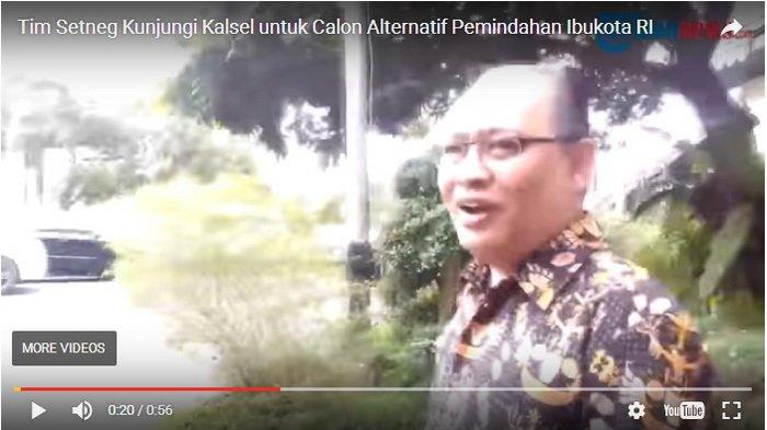 Tim Setneg Berkunjung ke Kalsel, Kepala Bapedda: Kalimantan Selatan Siap untuk Hal Itu