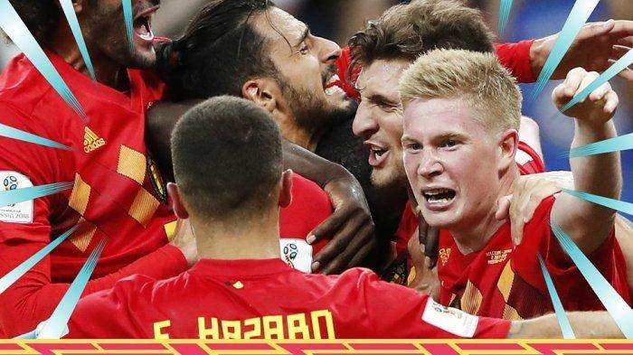 Perebutan Posisi Ke-3 Piala Dunia 2018, Sederet Fakta Ini Ungkap Belgia Lebih Unggul dari Inggris