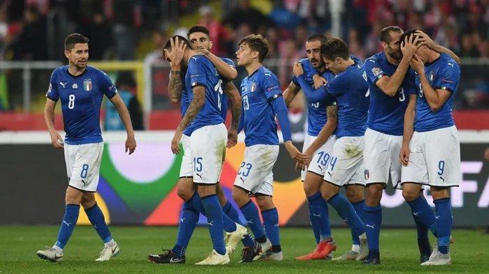LINK Live Streaming Super Soccer TV Yunani vs Italia Dini Hari, Laga Awal Kualifikasi EURO 2020