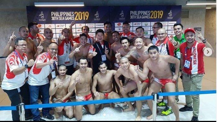 Sejarah SEA Games 2019 Tim Polo Air Putra Indonesia Pertama Kali Kalahkan Singapura Juara dari 1965