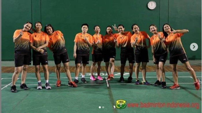 Cabor Badminton SEA Games 2019 Hari Ini 1 Desember, Timnas Putri Indonesia vs Vietnam, Ini Line Up