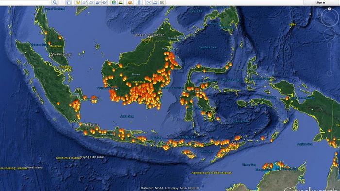 BMKG Deteksi 11 Titik Api di Aceh, Jambi, Kepulauan Riau dan Provinsi Riau