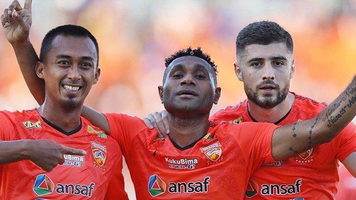 Hasil Liga 1 2020, Gol Cantik Titus Bonai Bawa Borneo FC Kalahkan Persela Lamongan di Stadion Segiri