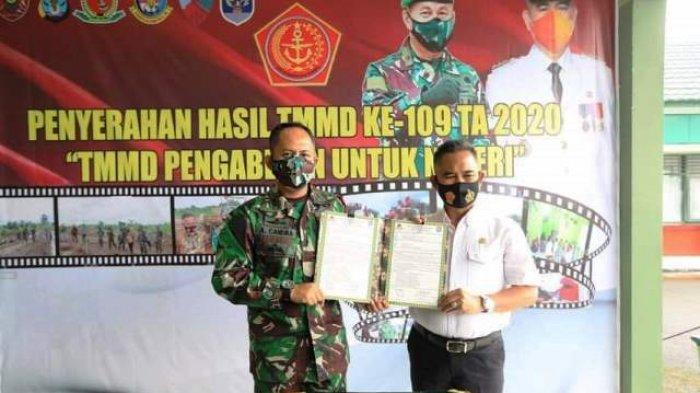 Walikota Khairul Sebut Program TMMD Sejalan dengan Visi dan Misi Kota Tarakan