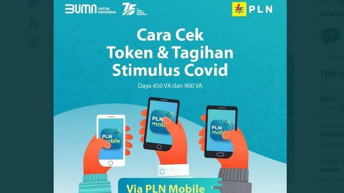Awas Jangan Pakai WA! Cara Klaim Token Listrik Gratis 2021 Lewat PLN Mobile/login stimulus.pln.co.id