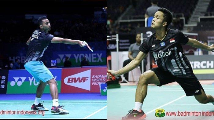 Australian Badminton Open 2019 - 7 Wakil Indonesia Bertanding, Anthony Ginting vs Tommy Sugiarto