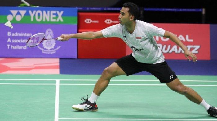 Hasil Denmark Open 2019 Hari Ini Tommy Sugiarto Dihentikan Kento Momota, 3 Wakil Indonesia ke Final