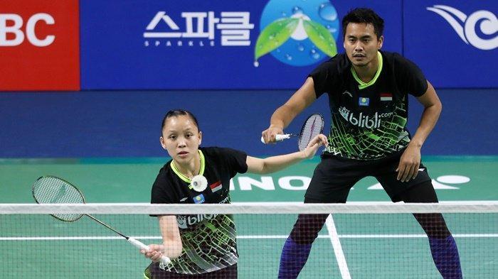 Live Streaming dan Hasil Indonesia Masters 2020, Tontowi/Apriyani Melaju Karena Lawan Berhenti